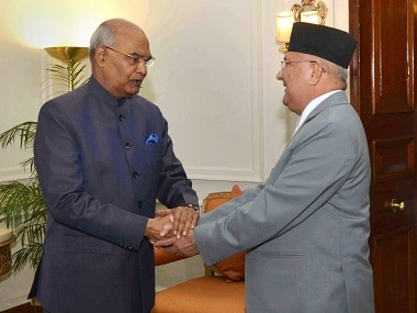 Ram Nath Kovind meets KP Oli, says India's interest lies in Nepal's stability and economic prosperity