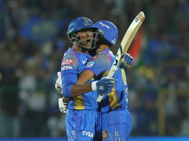 Krishnappa Gowtham produced a blinder of a knock to help Rajasthan Royals pull off a stunning victory over Mumbai Indians. Image Courtesy: SportsPicz