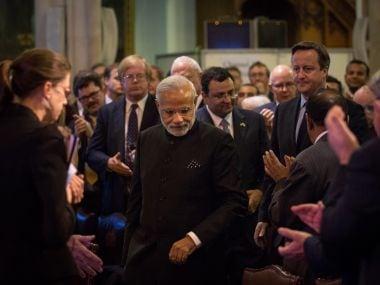 File image of Prime Minister Narendra Modi in London. AFP