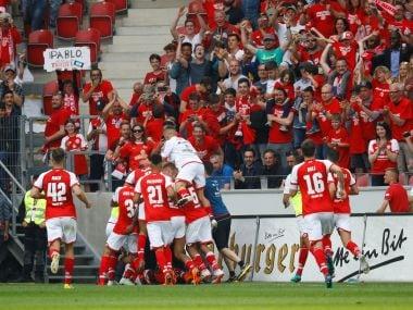 Bundesliga: Naby Keita shown fourth red card of season as Mainz stun RB Leipzig; Dortmund held by Werder Bremen