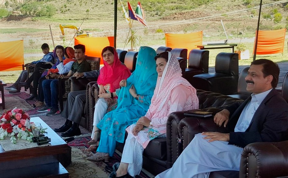Malala returns to London after nostalgic visit to 'most beautiful' Swat Valley