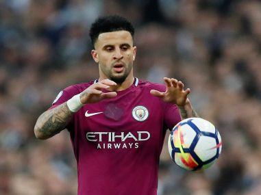 Manchester City's Kyle Walker. Reuters