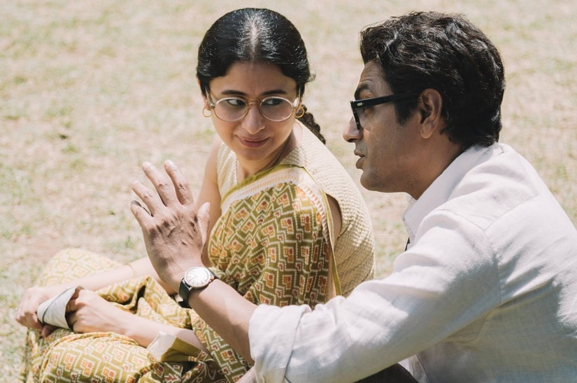 Rasika Duggal and Nawazuddin Siddiqui in a still from Manto. Facebook