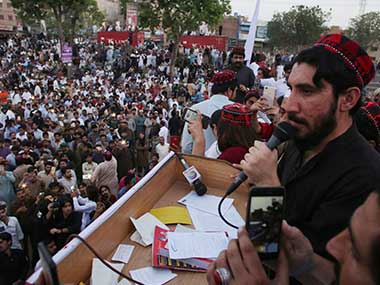 Pashtun protesters accuse Pakistan Army of widespread abuses, military claims agitation backed by foreign powers