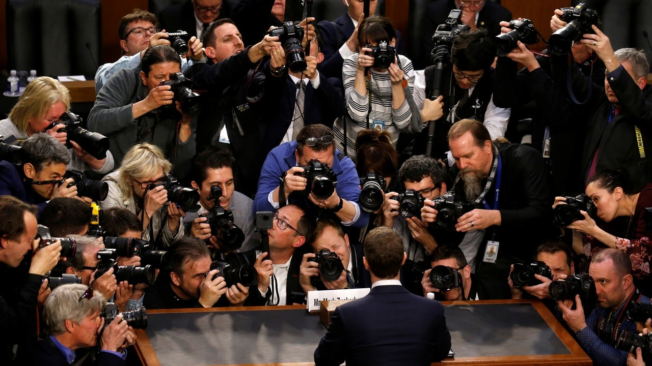 Facebook CEO Mark Zuckerberg. Reuters