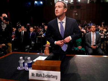 Mark Zuckerberg reveals that his own data was improperly shared by Cambridge Analytica