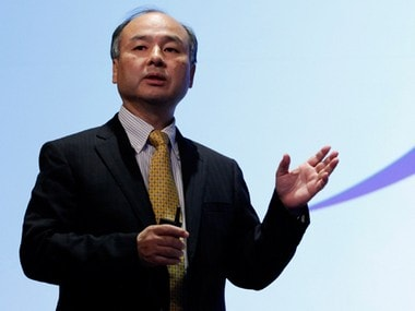 File photo of Masayoshi Son, Softbank Group CEO. Reuters