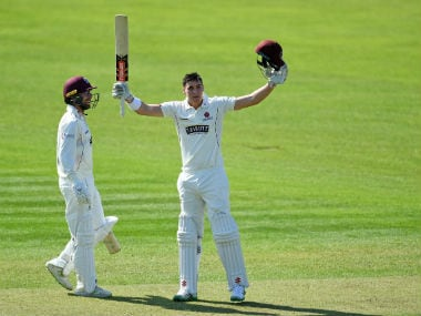 Australia's Matt Renshaw makes dream start to county career with century on debut for Somerset