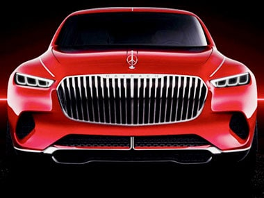 Weird Mercedes-Maybach Concept SUV debuts in leaked images before Beijing Motor Show