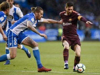 La Liga: Unbeaten Barcelona seal 25th league title after Lionel Messi sinks Deportivo La Coruna with a hat-trick
