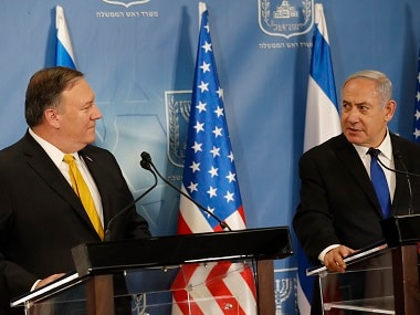 US concerned by Irans destabilising and malign activities, says Mike Pompeo after meeting Benjamin Netanyahu