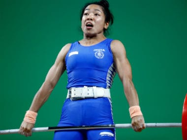 File image of Mirabai Chanu. Reuters