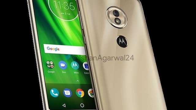 Moto G6 Play Gold. Image credit: Mobilescout
