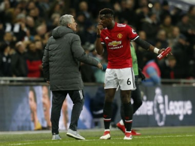 Premier League: Manchester United boss Jose Mourinho defends Paul Pogba after Paul Scholes scathing criticism
