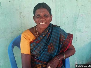 Muthammal, the dalit president of Veerappanaikampatti panchayat in Dharmapuri district, had her financial powers suspended under Article 205 of Tamil Nadu Panchayat Act, for standing up to the dominant caste panchayat functionaries. Image courtesy: Indiaspend