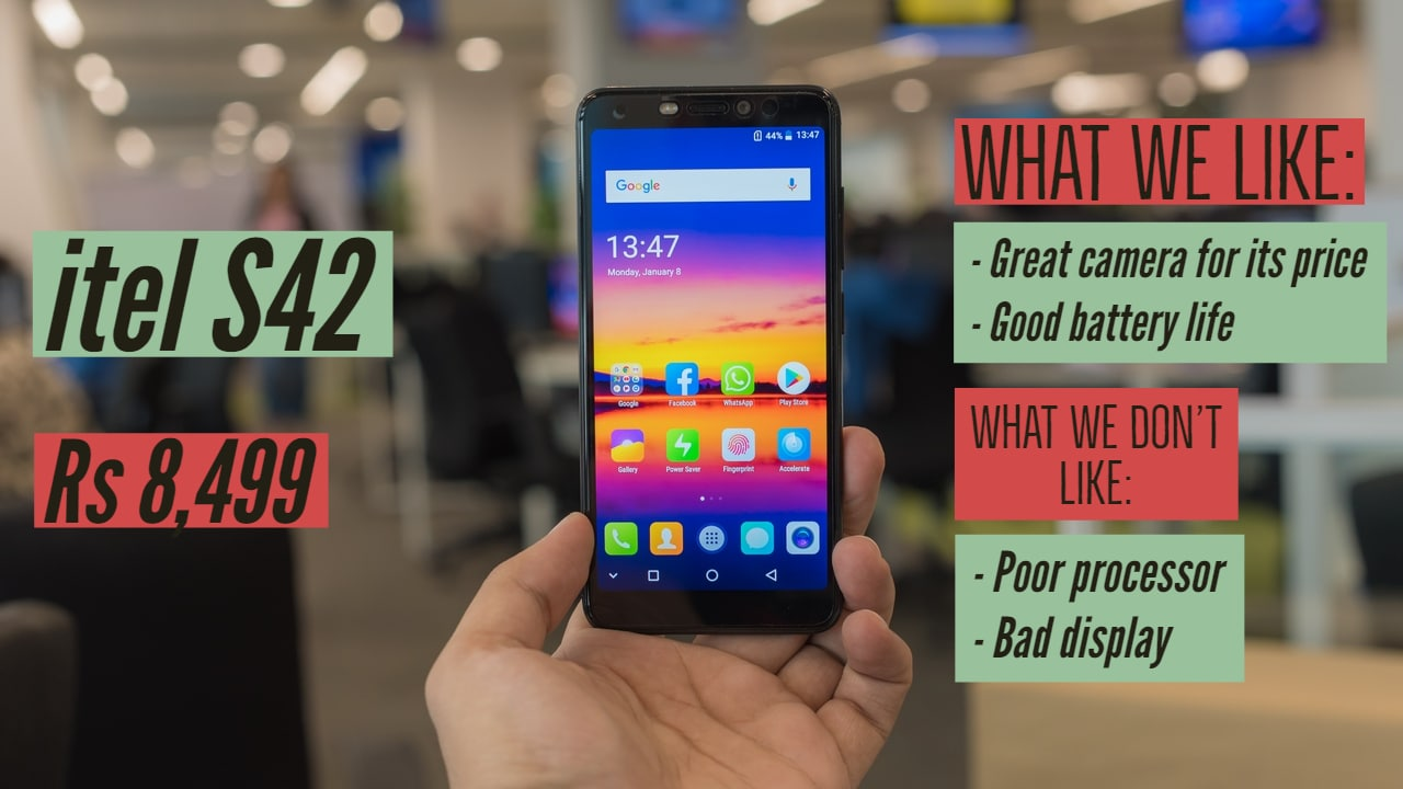 itel S42 review: Impossible to recommend over the Redmi 5 or Realme