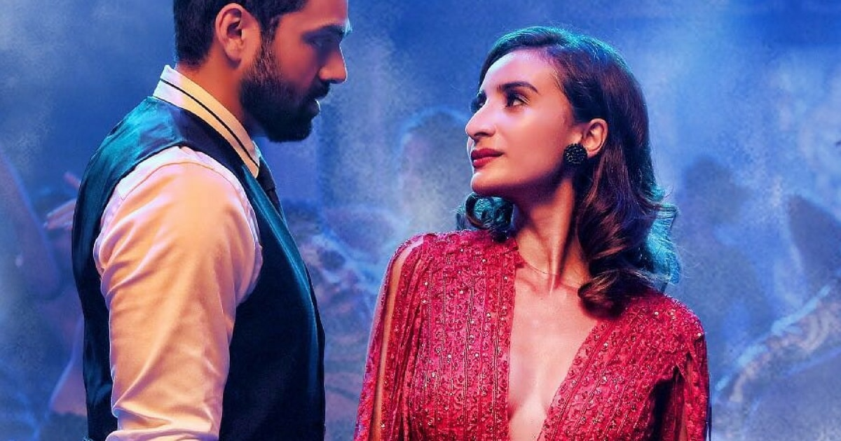 Abhay Deol and Patralekha in a still from Nanu Ki Jaanu