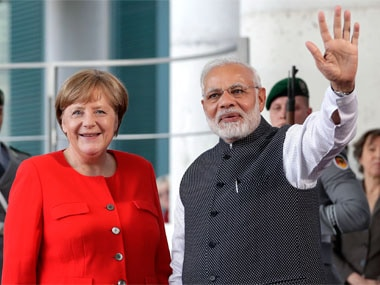 Narendra Modi meets Angela Merkel in Berlin, both leaders discuss bilateral ties, other global issues