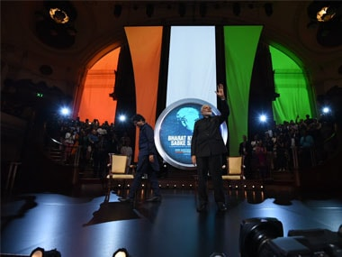 Narendra Modi's Westminster Townhall was cathartic and meant to reveal his lonely, vulnerable 'I am you' side