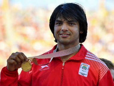 File image of Neeraj Chopra. AFP
