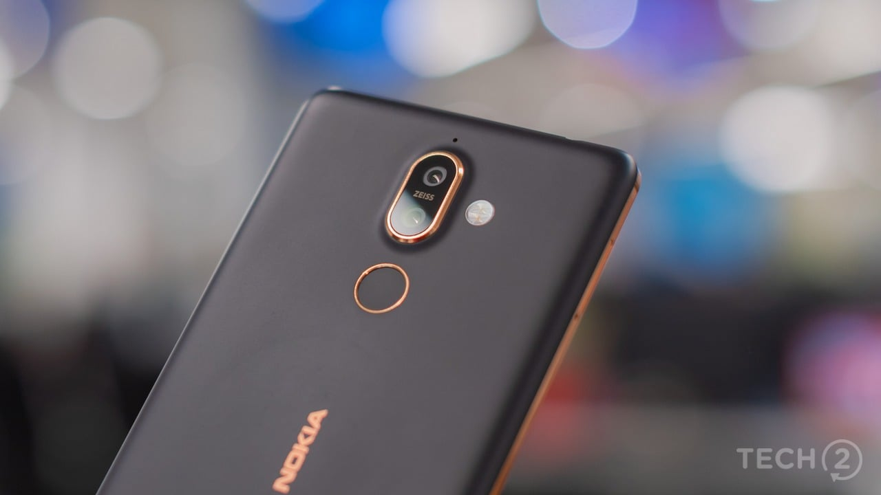 Nokia 7 Plus. Image: tech2/Rehan Hooda