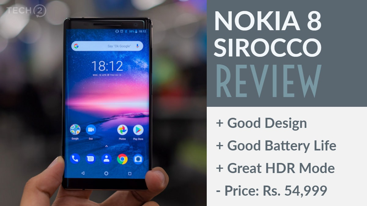 Nokia 8 Sirocco review: Good work Nokia, but buyers can skip