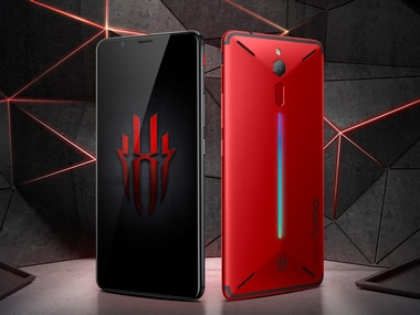 ZTE launches Nubia Red Magic gaming smartphone with cooling vents and configurable RGB lighting for CNY 2,499