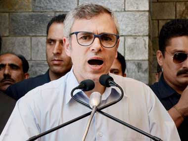 Omar Abdullah says dialogue only way for India, Pakistan to move forward on Kashmir issue