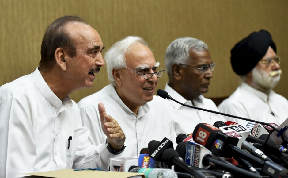 Kapil Sibal said that the move was taken by