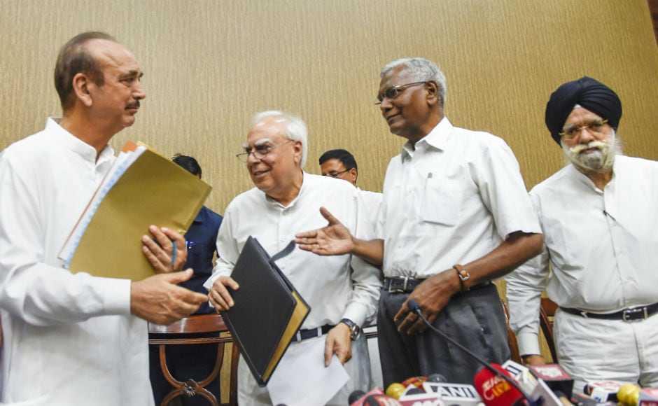 Seven Opposition parties led by the Congress on Friday initiated an unprecedented step to impeach Chief Justice of India Dipak Misra, moving a notice accusing him of