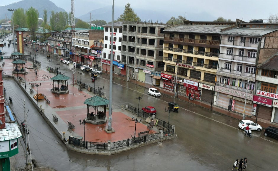 Restrictions continued in parts of Srinagar and some other places in the Kashmir Valley on Tuesday after separatists extended their protest shutdown against the killings of four civilians in Shopian district on Sunday. PTI