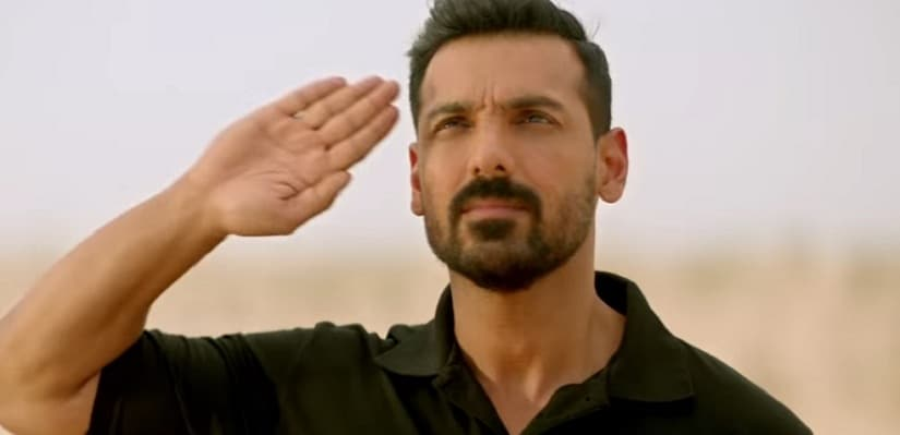 John Abraham in a still from Parmanu: The Story of Pokhran. YouTube
