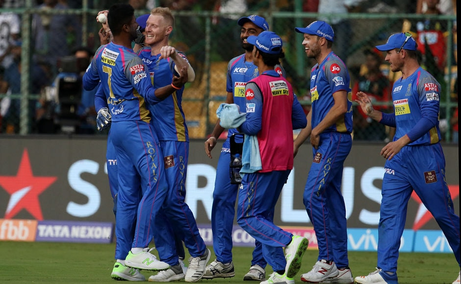 Rajasthan Royals showed discipline in the field, restricting  Royal Challengers Bangalore to 198 for 6, winning the game by 19 runs. Sportzpics