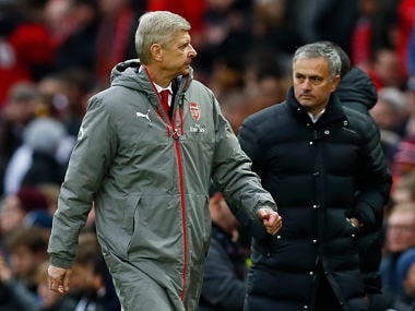 Premier League: Arsenal boss Arsene Wenger hopes for peaceful end to rivalry with Jose Mourinho
