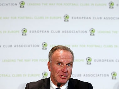 File image of Karl-Heinz Rummenigge. Reuters