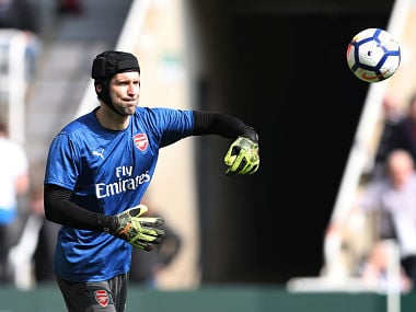 Premier League: Petr Cech wants Arsenal to target winning run to end season with top-five finish and Europa League title