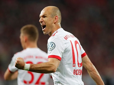 Champions League: Bayern Munich must be fearless against Real Madrid, says Arjen Robben