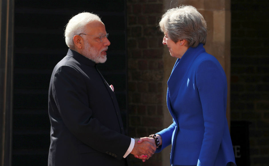 Modi also held bilateral talks with his British counterpart Theresa May ahead of the summit. The two leaders spoke on various issues like terrorism, visas and immigration. Reuters