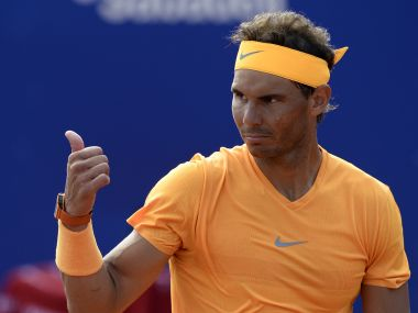 Barcelona Open: Rafael Nadal notches 400th win on clay, sets up title clash with Greek teenager Stefanos Tsitsipas