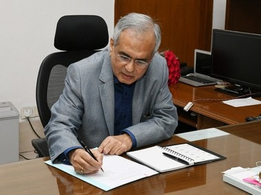 File image of Rajiv Kumar, Vice-Chairman of NITI Aayog. PIB image