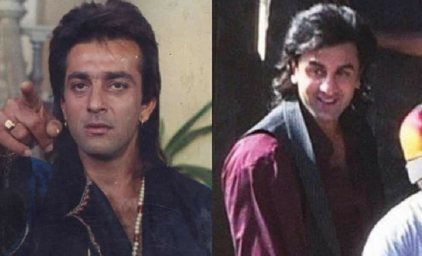 Ranbir Kapoor as Sanjay Dutt/Image from Twitter.