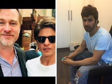 Shah Rukh Khan's fanboy moment with Christopher Nolan; Varun Dhawan's October prep: Social Media Stalkers' Guide