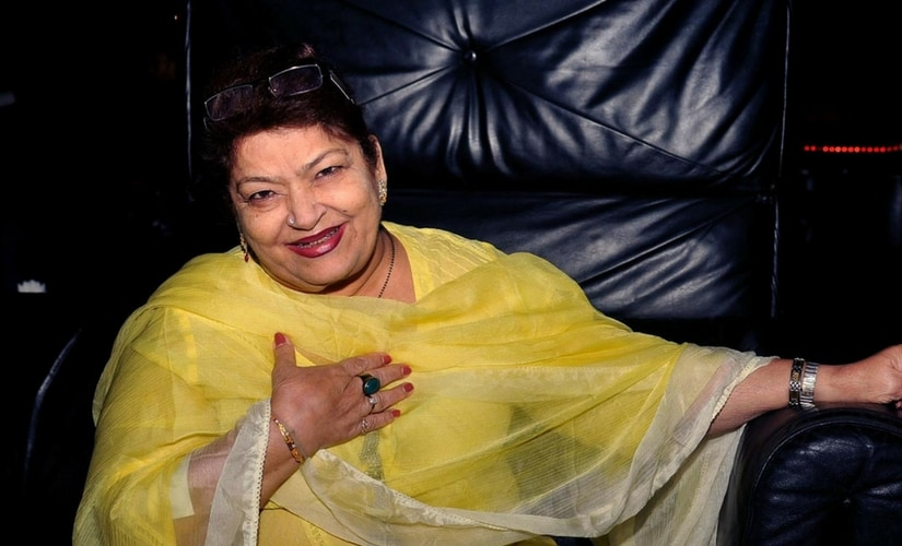 Saroj Khan/Image from Twitter.