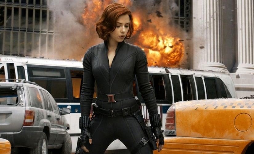 Scarlett Johansson as Black Widow/Image from Twitter.