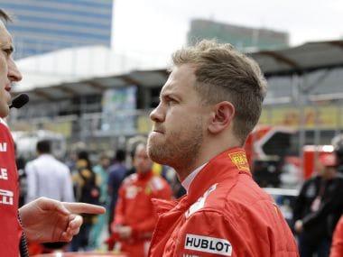 File image of Sebastian Vettel. AP