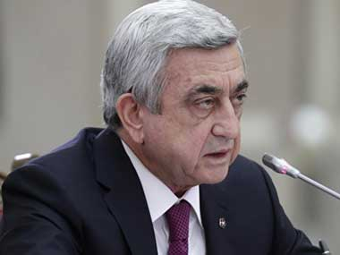 Armenia PM Serzh Sarkisian resigns after mass protests, Russia says it is carefully watching events