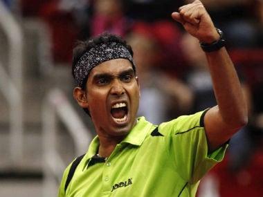File image of Sharath Kamal. Reuters