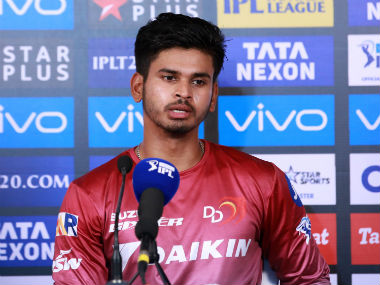 Shreyas Iyer addresses the media after Delhi Daredevils' win over Mumbai Indians. Sportzpics