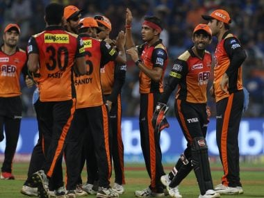 Sunrisers Hyderabad defended 118 to beat Mumbai Indians at Wankhede stadium. Image Courtesy: SportsPicz