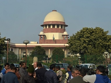 File image of Supreme Court of India. PTI